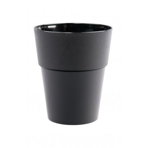 Кашпо для орхидей  КОЛО  черный 1,5  Л