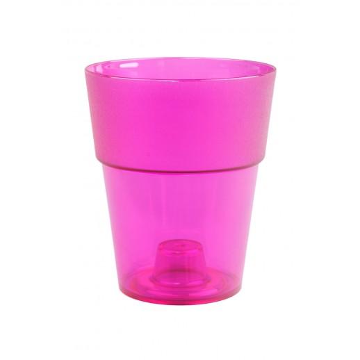 Кашпо для орхидей  КОЛО  розовый 1,5 Л