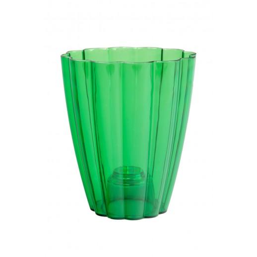 Кашпо для орхидей РОМАШКА зеленый 1,5  Л