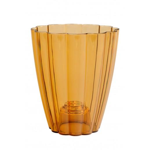 Кашпо для орхидей РОМАШКА бронзовый 1,5  Л