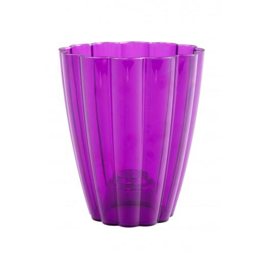 Кашпо для орхидей РОМАШКА фиолетовый 1,5  Л