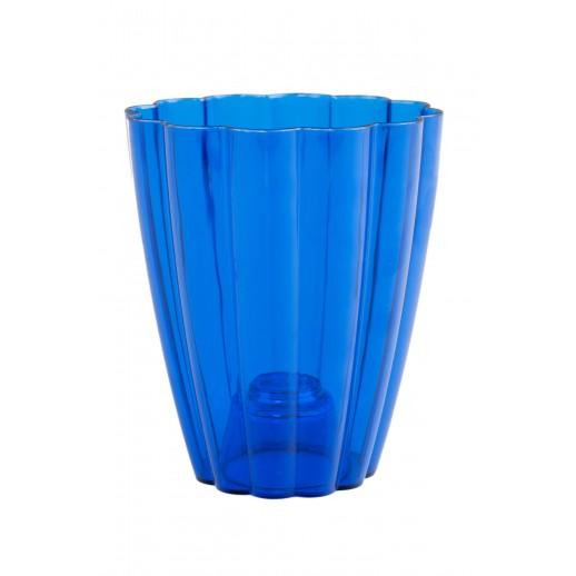 Кашпо для орхидей РОМАШКА синий 1,5  Л